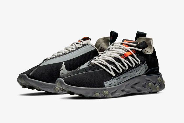 Nike Ispa React Low Black Quarter