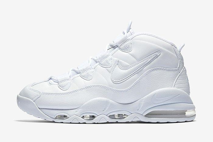 Nike Air Max Uptempo Triple White 6