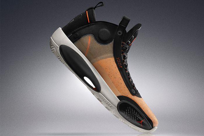 Air Jordan 34 Amber Rise Right