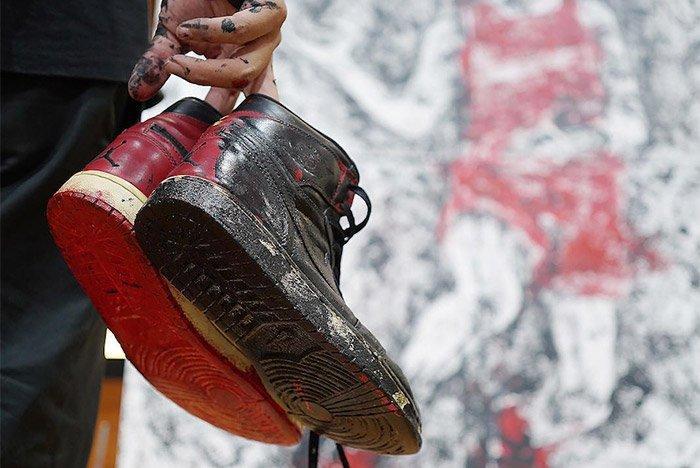 Air Jordan 1 Shoe Painting 4
