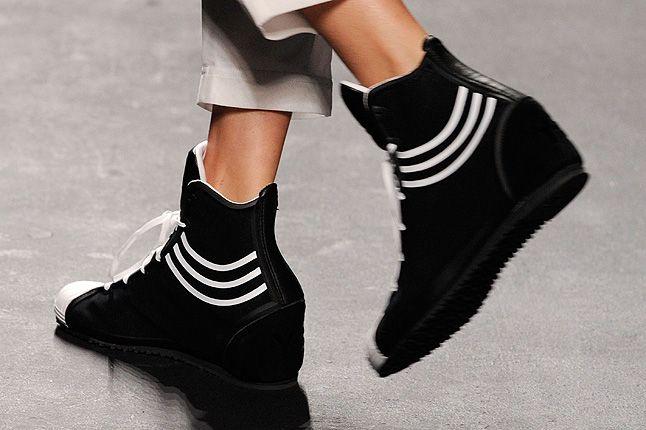 Three Stripes Boxing Boots Black 1
