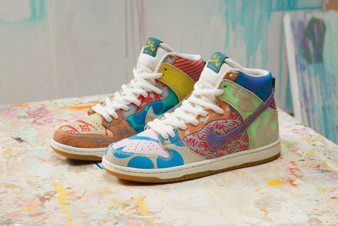 Thomas Campbell X Nike Sb Dunk High Premium What The6
