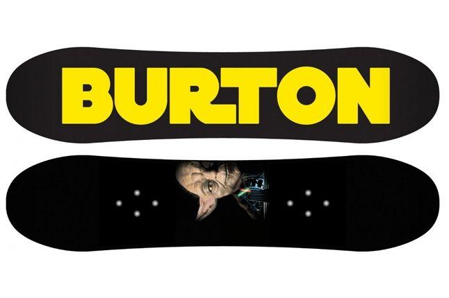 Burton Star Wars Snowboard 8 1