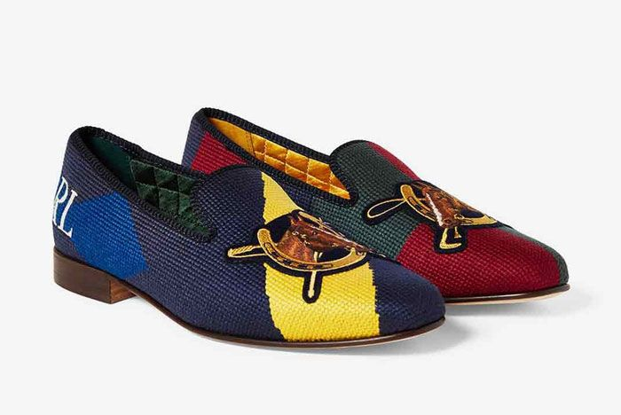 Polo Palace Slippers Multi Front Side 2