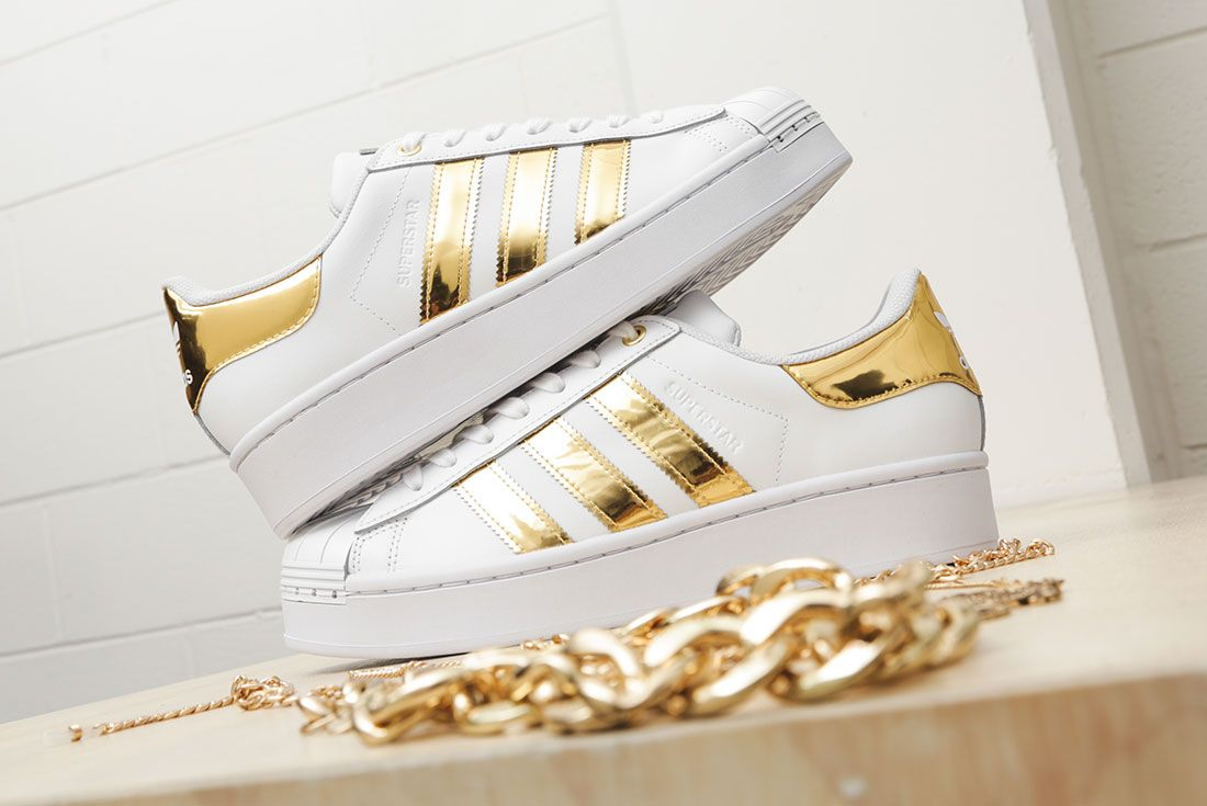 Adidas Metallic Gold Pack Superstar 50Th Anniversary Jd Sports Exclusive Hero2