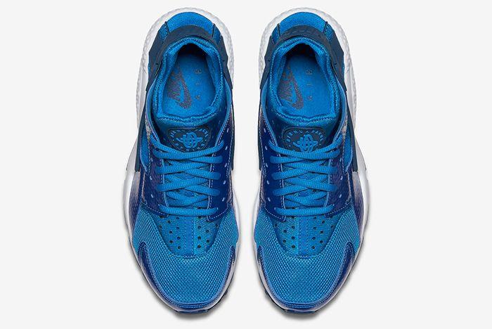 Nike Air Huarache Metallic Blue2