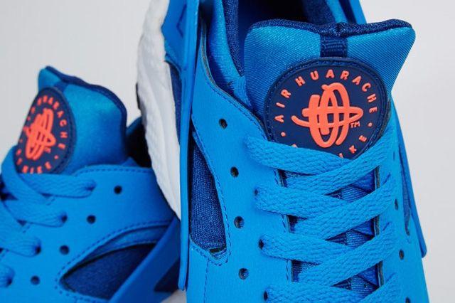 Nike Air Huarache Gym Blue Mango 2