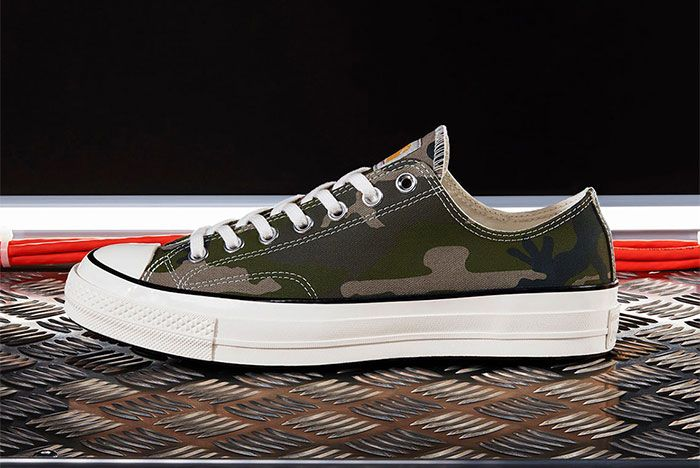 Carhartt Wip Converse Chuck Taylor 70 Camo Lateral Side Shot