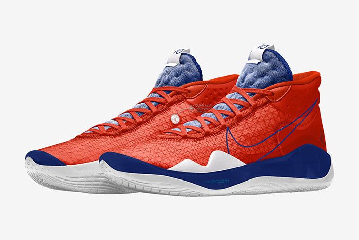 Nike Kd 12 Nike By You Blue Left