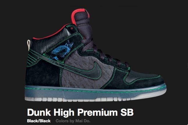Nike Night Owls Dunk Hi Premium Sb 2009 1