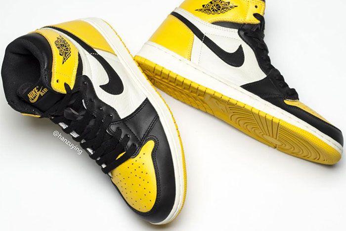 Air Jordan 1 Yellow Toe Double