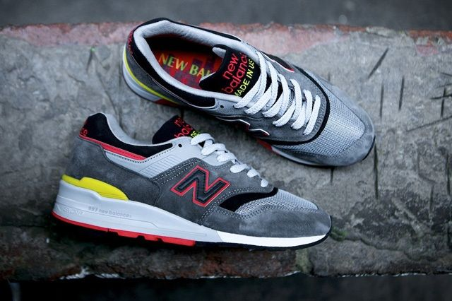 New Balance 997 Made Usa Dark Grey 9