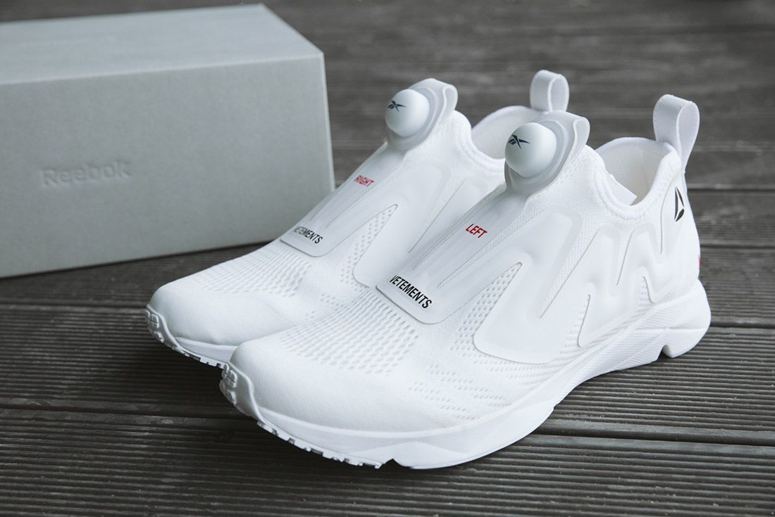 Vetements Reebok Pumps White 7