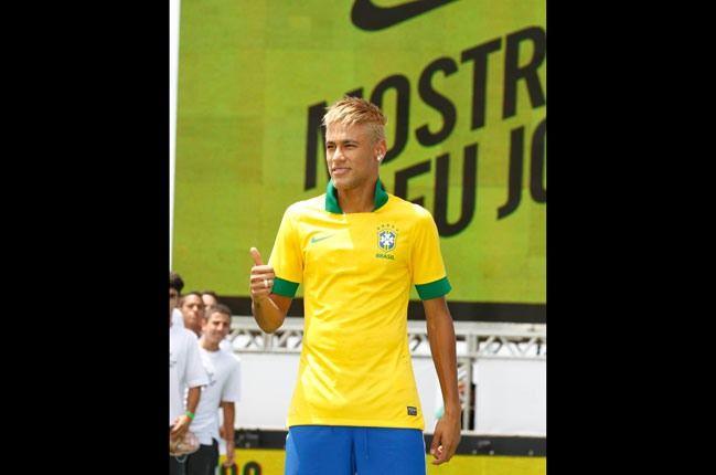 Nike Football Brazil Home Jersey Neymar 1