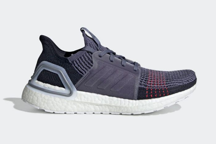 Adidas Ultraboost 19 Raw Indigo Right Side Shot