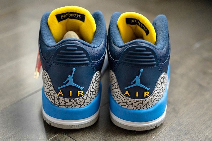 Air Jordan 3 College Pe Marquette 2 Sneaker Freaker