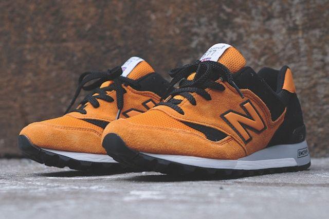 New Balance M577 Orange Black 2