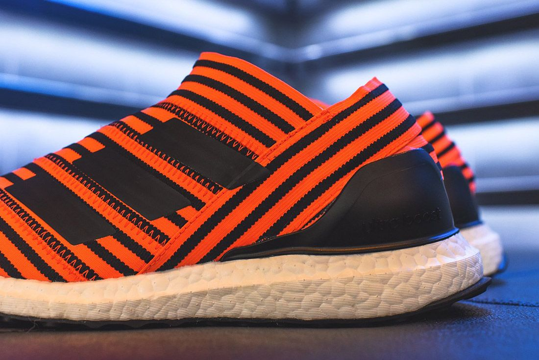 Adidas Nemeziz Tango 17 Orange Black2