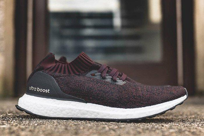 Adidas Ultraboost Uncaged Dark Burgundy 1