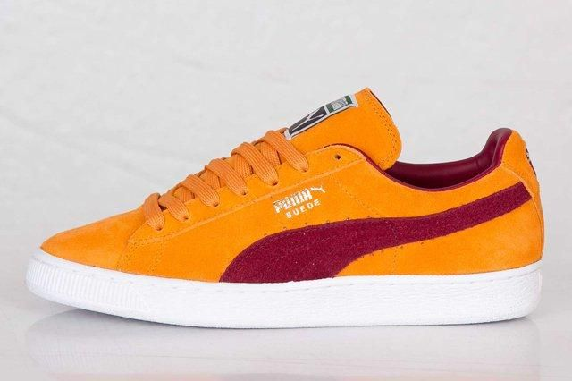 Puma Suede Classic Bright Marigold Pomegranate 7