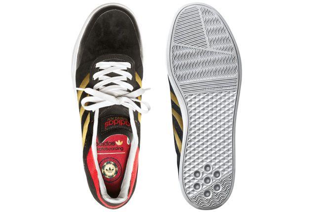 Adidas Busenitz Adv Black Gold Pair 1