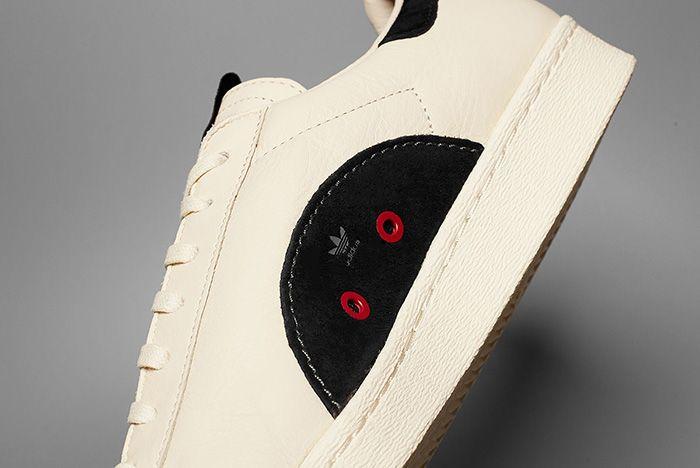 Kasina X Adidas Superstar Leather