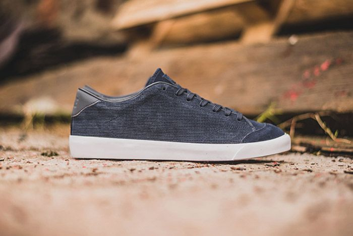 Nike All Court 2 Low Marine Blue Suede 5