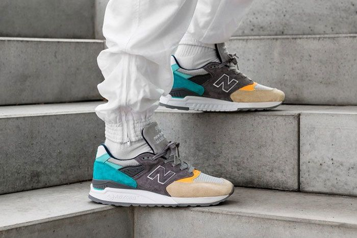 New Balance 998 Sand Aqua 1