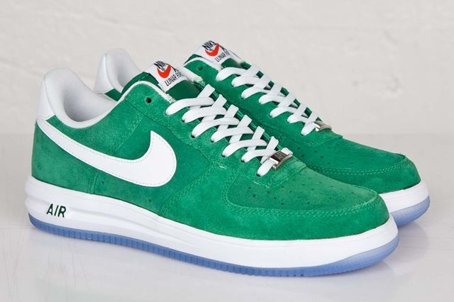 Nike Lunar Force 1 Pine Green Bumper 4