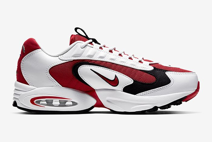 Nike Triax 2 White Red Right