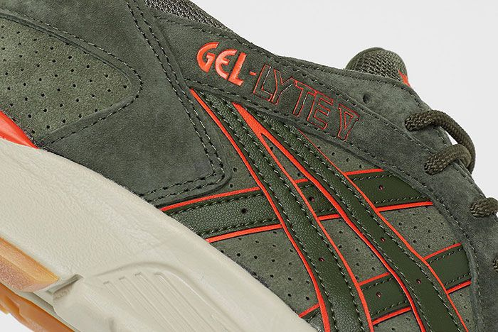 Asics Gel Lyte V Flight Jacket Detail