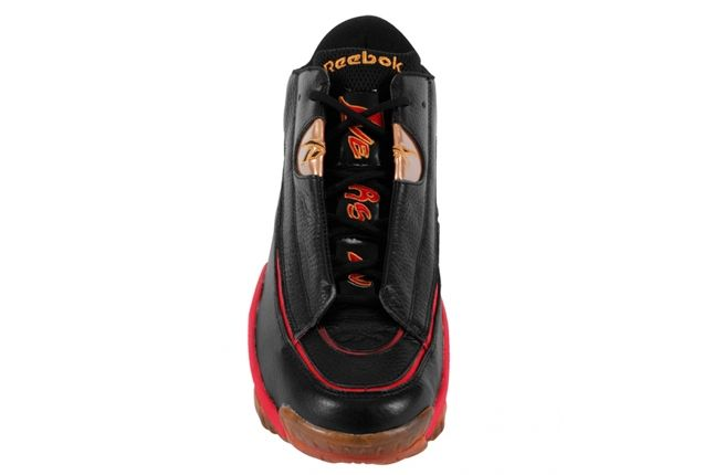 Reebok Answer Dmx Red Gold Toe Aerial 1