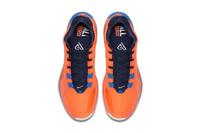 Nike Zoom Freak 1 Total Orange Bq5422 800 Release Date Top Down