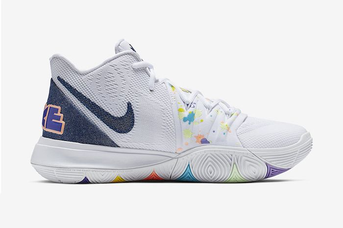 Nike Kyrie 5 Have A Nike Day Ao2919 101 Release Date Medial