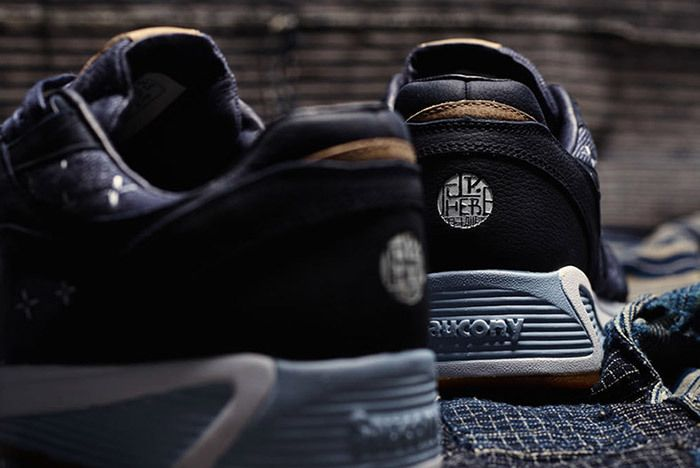 Up There Store Saucony Grid 8000 Sashiko Sneaker Freaker Small