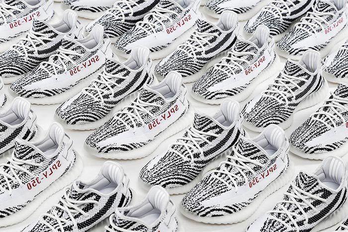 Yeezy Boost 350 V2 Zebra November Restock Release Date Hero