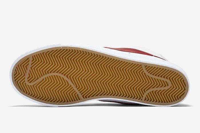 Nike Sb Blazer Team Red Cj6983 101 Release Date 1 Sole