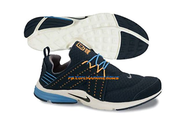 Nike Air Lunar Presto 2013 Orange Black Blue 1