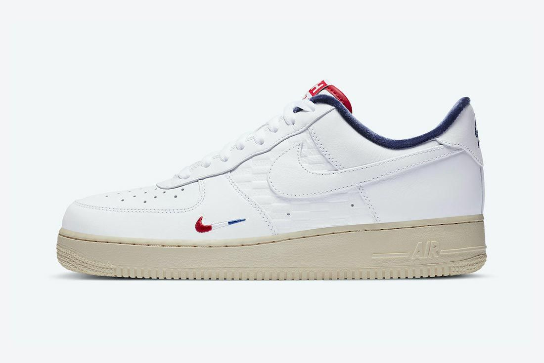 Kith x Nike Air Force 1 'France'