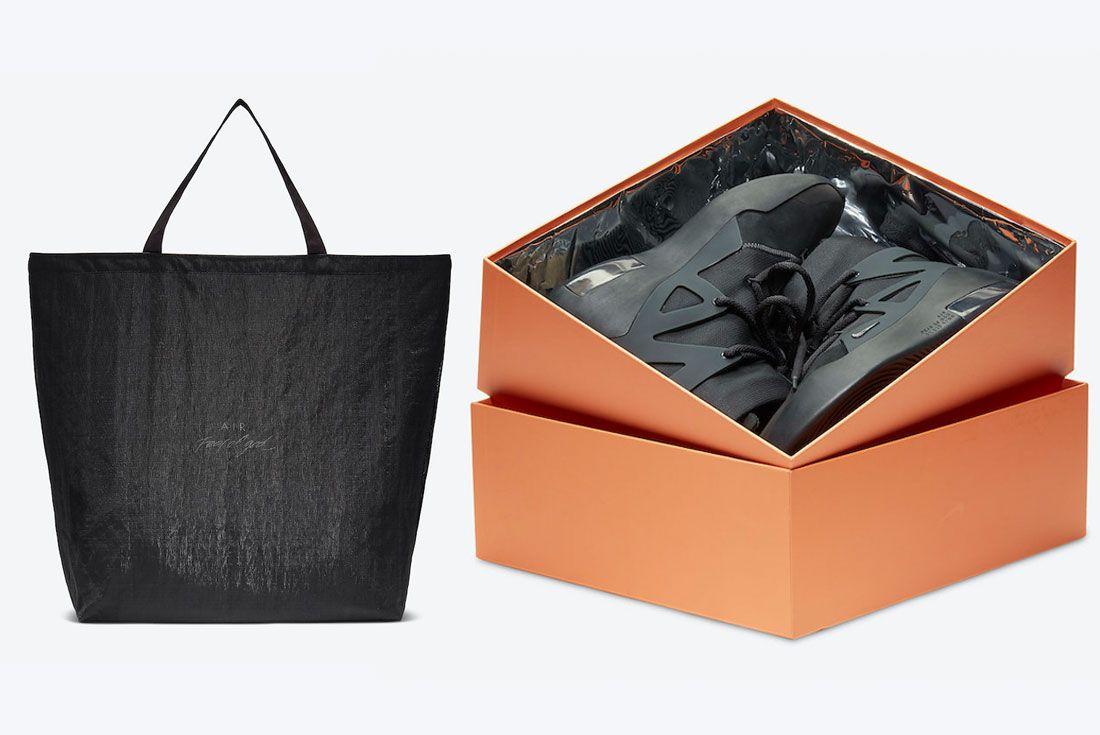 Nike Air Fear of God 1 'Triple Black' AR4237-005 Packaging