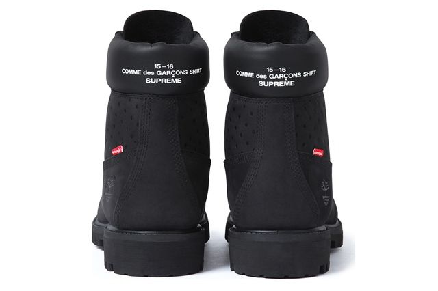Comme Des Garçons Shirt X Supreme X Timberland 6 Inch Premium Waterproof Boot 4