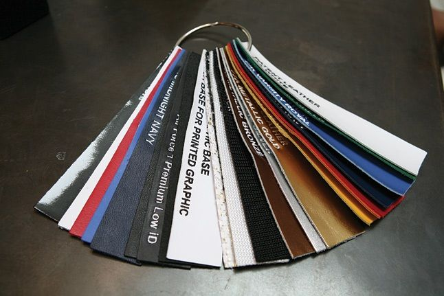 Bespoke Leather Swatches 1
