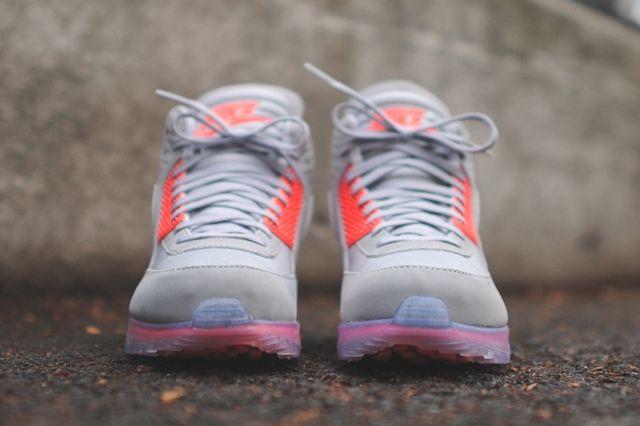 Nike Air Max 90 Sneakerboot Ice Infrared Bump 4