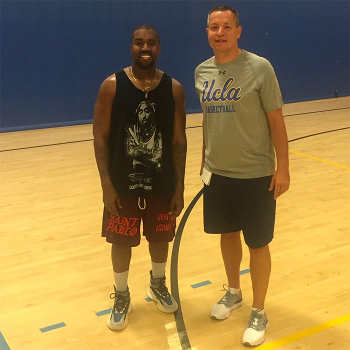 Kanye New Basketball Sneaker 1