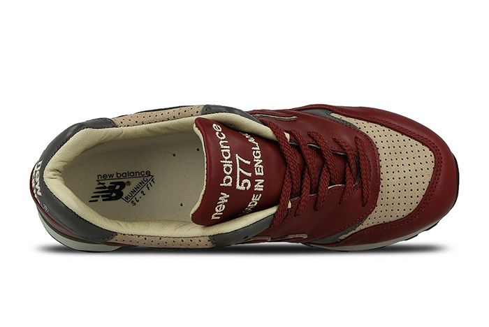 New Balance 577 Made In England Burgundy 4