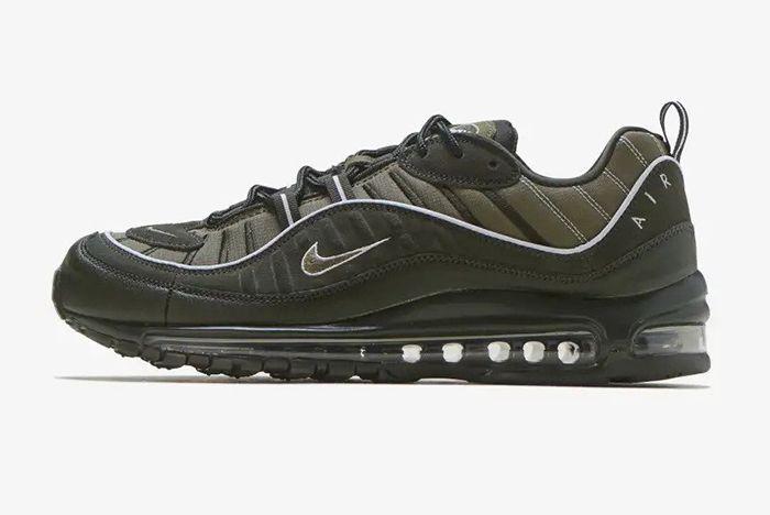 Nike Air Max 98 640744 300 Green Lateral