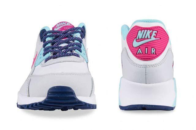 Nike Air Max 90 Gs Vivid Pink6