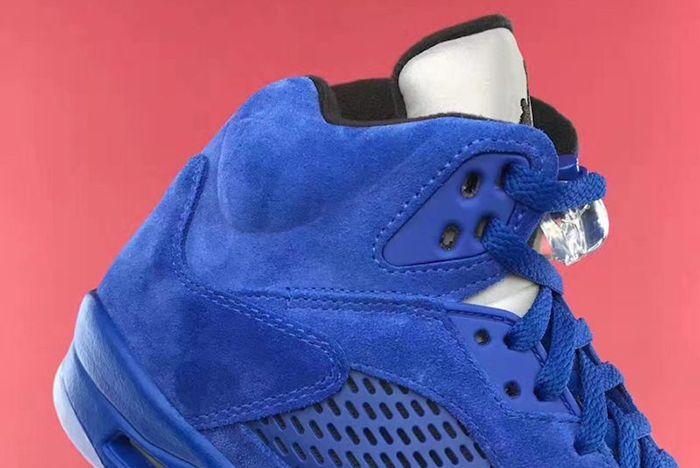 Air Jordan 5 Blue Suede11