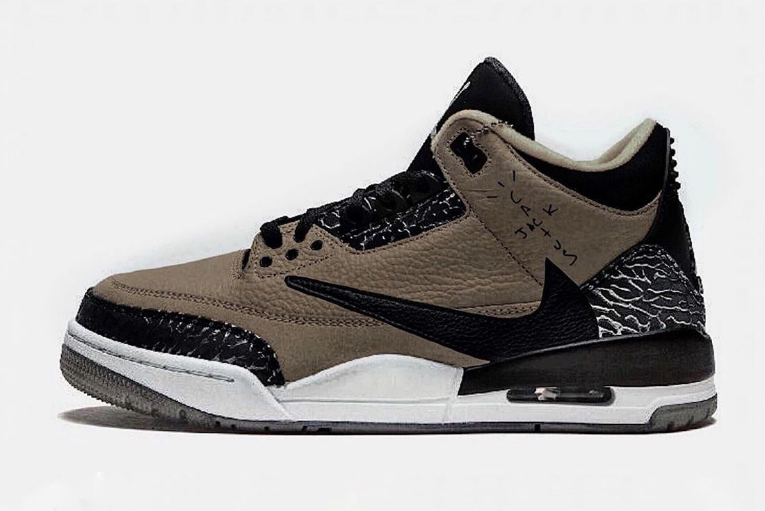 travis scott air jordan 3 mock