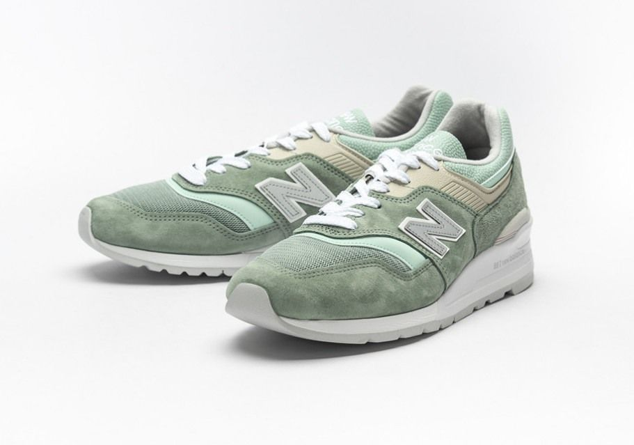 New Balance M997 Sob Light Green Release Date 1